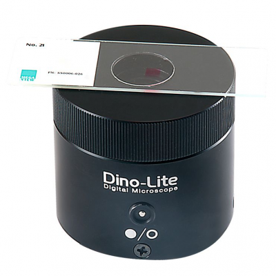The Dino-Lite backlight stage BL-CDW for microscopes