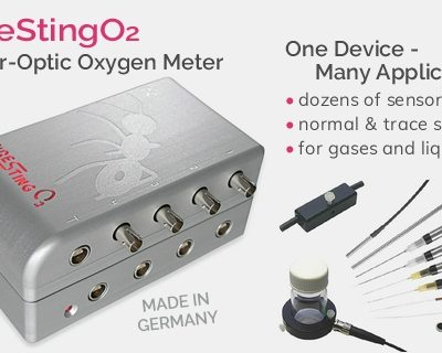 FireStingO2 – a PC-controlled (USB) fiber-optic oxygen