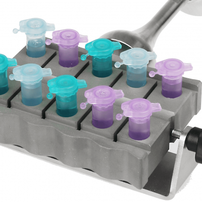 UP200St with VialTweeter sonotrode for Simultaneous Sample Preparation