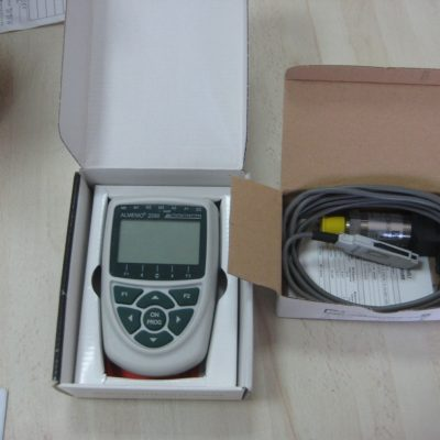 Portable meter and data logger