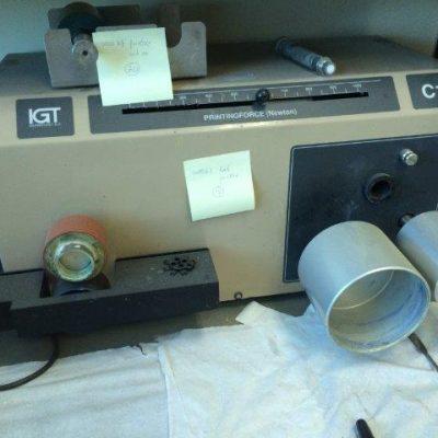 Printability tester