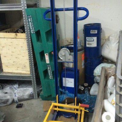 Variable Height Pail Dispenser