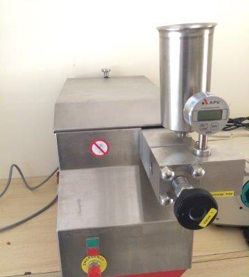 Laboratory homogenizer