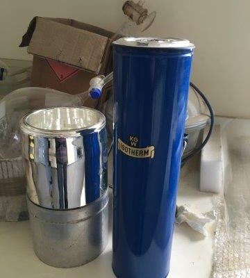Dewar Flasks Cylindrical