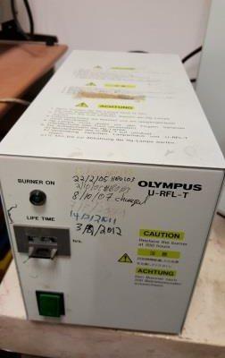 Olympus Fluorescent Trinocular Stereoscope