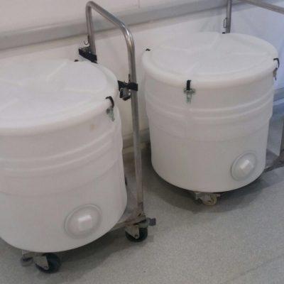 Polypropylene barrels