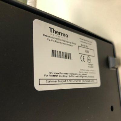 Fluorospectrometer – Nanodrop 3300