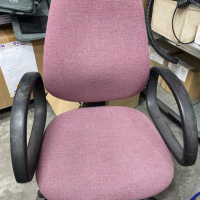 כסא משרדי ורוד