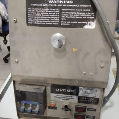 UVOC ultraviolet / ozone cleaner