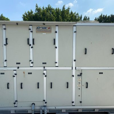 יחידת טיפול אויר (יט״א) ומערכת אוויר דחוס